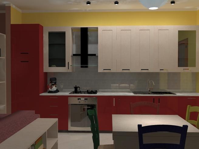 Soggiorni e cucine casa design - Cucine e soggiorni ...
